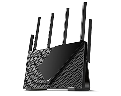 TP-Link WiFi Wireless LAN Router Wi-Fi6 4804 Mbps + 574Mbps Archer AX73/A + Vertical Stand