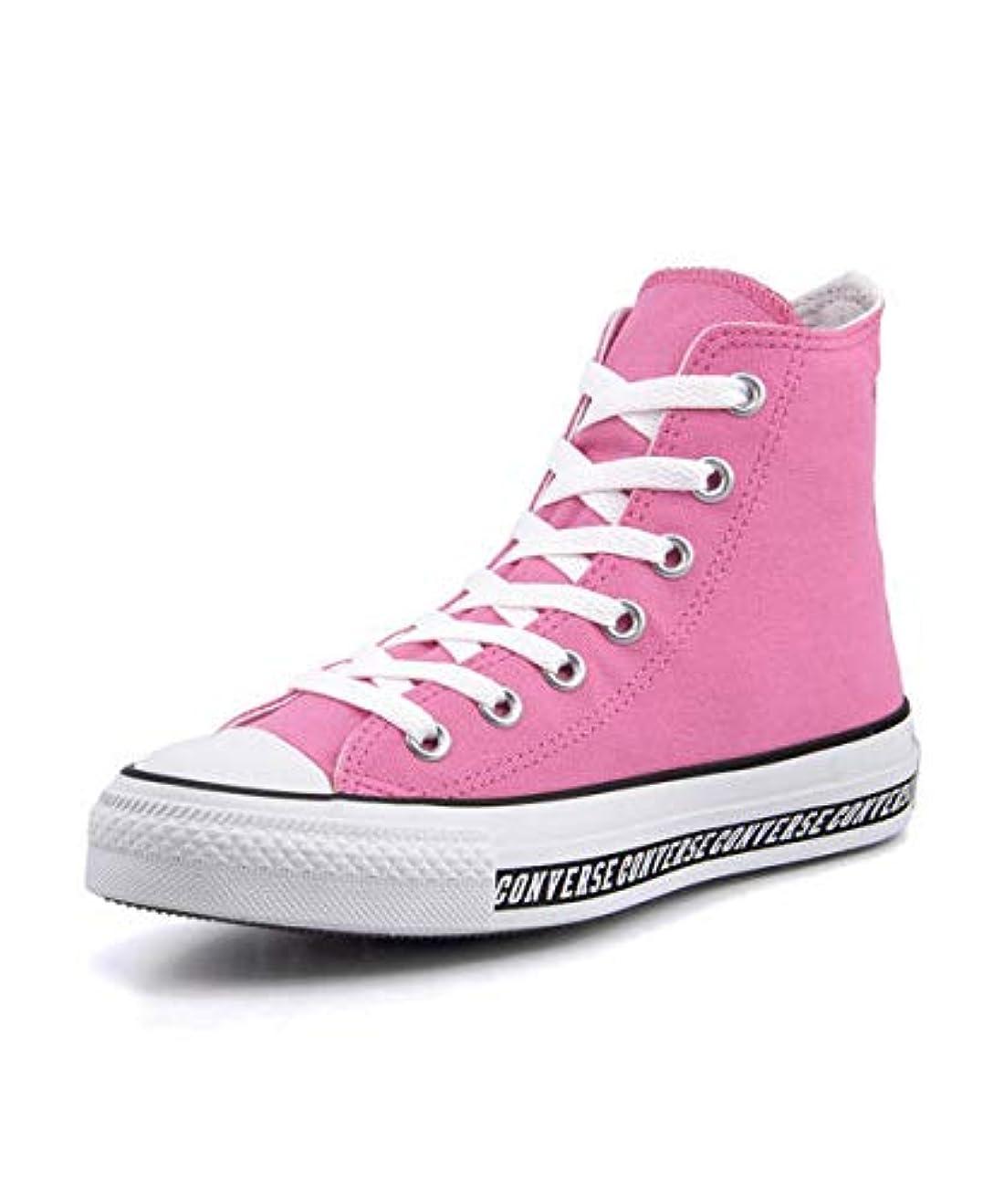 円形休憩する酸化物[コンバース] ALL STAR LOGOLINE HI(オールスターロゴラインHI) 1SC075 ピンク