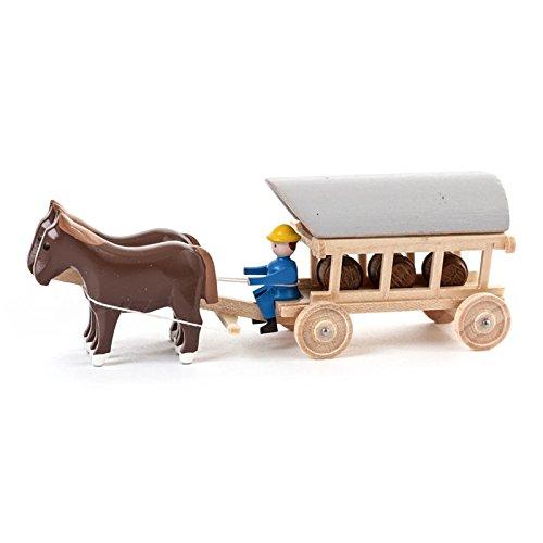 Dregeno Erzgebirge - Miniatur-Pferde mit Planwagen