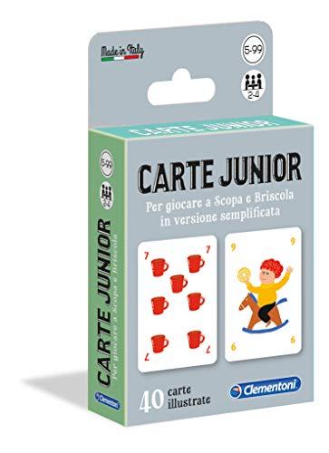 Sapientino Junior, carte da gioco per bambini (versione in italiano), Multicolore, 16173