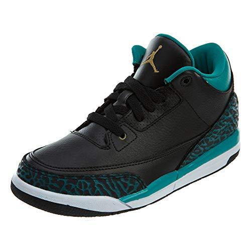 Nike Nike Jordan 3 Retro GP Sneaker 441141-018 , schwarz, 28.5 EU