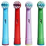Cabezal para cepillo de dientes EB-10A, Awhao Recambio cabezales para cepillo de dientes eléctrico de 4 piezas, accesorio para el cuidado de los dientes para EB-10A