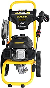 Stanley 196cc 3100-Psi 2.4-Gpm Gas Powered Cold-Water Pressure Washer