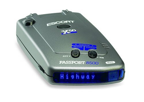 Escort Passport 8500 X50 Radar and Laser Detector (Blue Display)