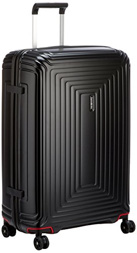 Samsonite Neopulse Spinner L Valigia, 75 cm, 94 L, Nero (Matte Black)