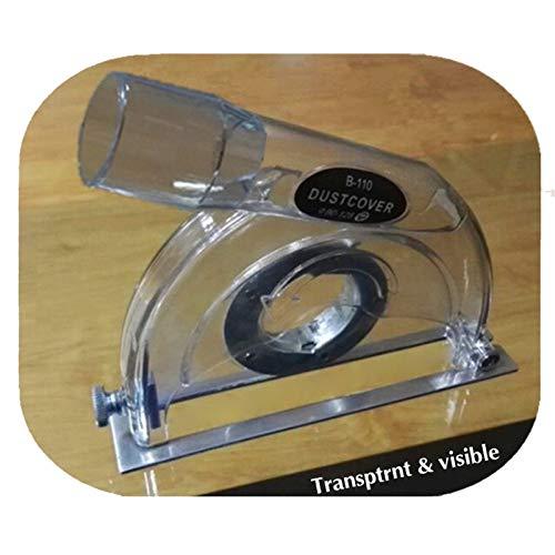 Yiwa schuurdeksel stofbescherming transparant voor haakse slijpers en zaagbladen van 3 inch / 4 inch / 5 inch