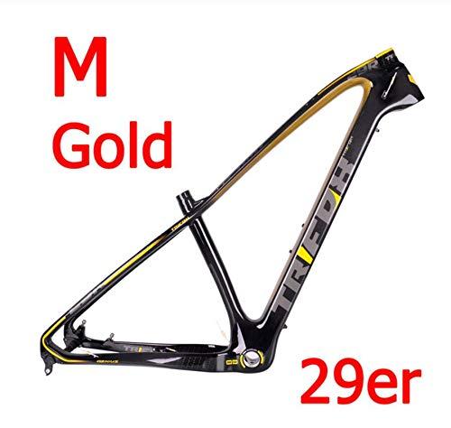 WANGYONGQI Fiets frame Mountain carbon 15.5/17/19 inch frame mountainbike 29er bergframe + zitklem + helm 2 jaar garantie 4