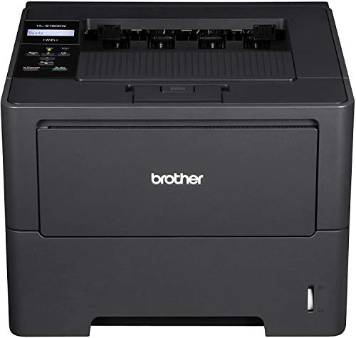 For Sale! Brother Printer HL6180DW Wireless Monochrome Printer, Amazon Dash Replenishment Ready (Ren...