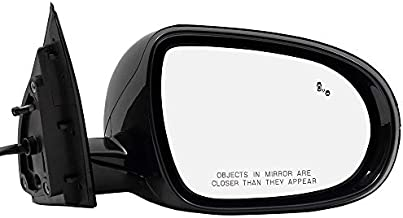 BROCK Side View Mirror for 2016-2018 Kia Sorento Passenger Replacement Power Heated Signal Blind Spot Detection fits 87620C6220 87620 C6220