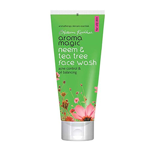 Aroma Magic Neem and Tea Tree Face Wash, 100ml by Aroma Magic