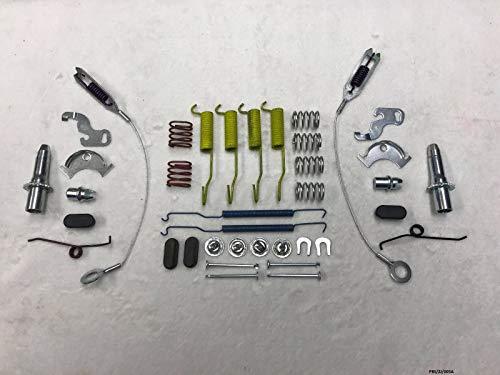 CARLSON Grand kit de réparation de mâchoires de frein arrière Grand Cherokee ZJ 1993–1996 Taille des tambours 25,4 cm