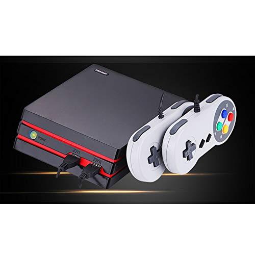 HD-Familien-Spiel-Konsole Retro Klassik TV Videospielkonsole Doppel Wired Gamepad HD-AV-Dual-Ausgang Unterstützung SD-Karte