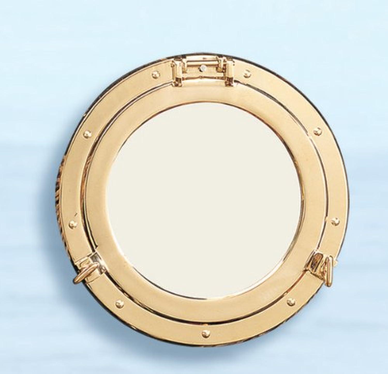Brass Porthole Mirror- 5
