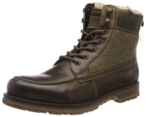 bugatti Herren 323395512269 Klassische Stiefel Kurzschaft Stiefel , Braun , 42 EU