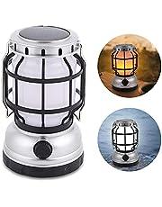 LED燈籠 太陽能充電 USB充電 一燈兩色 暖色 白 無階段調光 戶外燈 露營燈 帳篷燈 登山 夜釣 停電 緊急