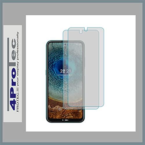 4ProTec   2X Bildschirm-Schutz-Folie MATT für Nokia X20 Dual SIM
