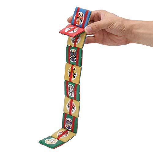 L'Arc en Ciel Jacobs Ladder Plastic Fidget Visual Stimulation Stress Sensory Toy For Kids Children Classic Gift