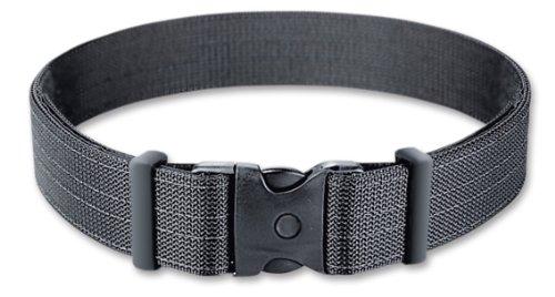 Uncle Mike's Kodra Nylon Web Deluxe Duty Belt (X-Large, Black)