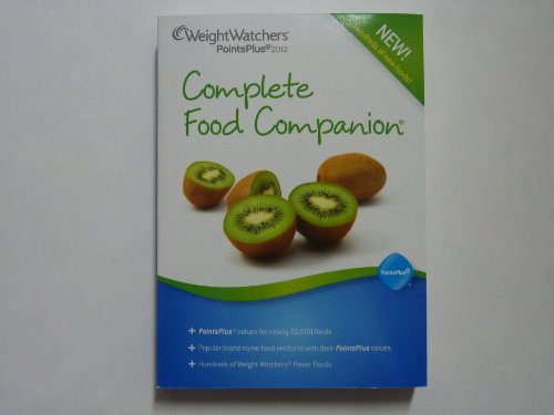 Weight Watchers 2012 Complete Food Companion Points Plus