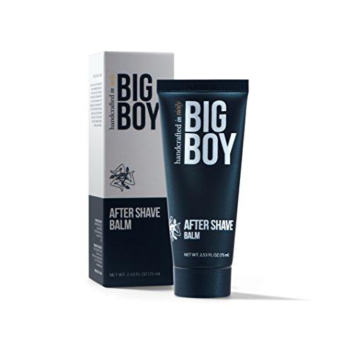 Big Boy Balsamo Dopobarba Calmante e Rilassante, per delicato e esigenti pelle, zieht veloce un, 75ML