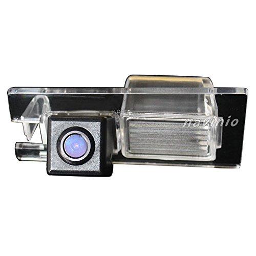 Dynavsal HD CCD Caméra de Recul Voiture en Couleur Kit Caméra vue arrière de voiture Imperméable IP67 avec large Vision Nocturne pour Fiat Viaggio /Freemont /Bravo /Ottimo from 2011 to 2013