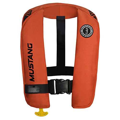 Mustang Survival Corp M.I.T. 100 Auto Activation PFD, Orange/Black