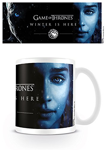 Piramide International Game of Thrones (Winter Is Here-Daenerys) Officiële Boxed Keramische Koffie/Thee Mok, Papier, Multi-Colour, 11 x 11 x 1,3 cm