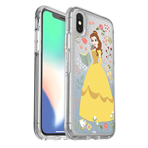 OtterBox Symmetry Series Disney Power of Princess Case for iPhone Xs & iPhone X Belle Beauty and The Beast