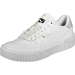 PUMA Women's Low-Top Sneakers, White White