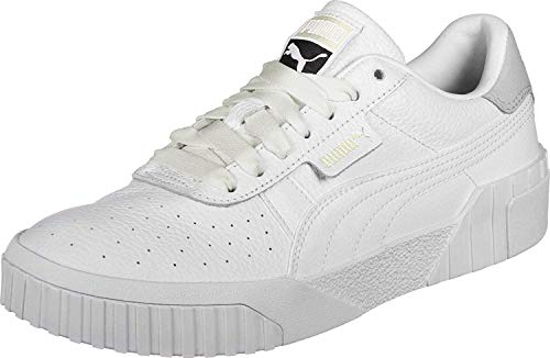PUMA Damen Cali Wn\'s Low-Top Sneakers, Weiß White White, 41 EU