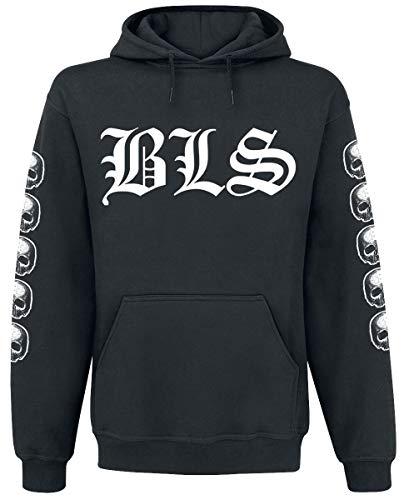 Black Label Society Logo Männer Kapuzenpullover schwarz L