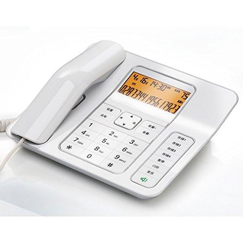Téléphone Liuyu · Maison de Vie Bureau Fixe Famille Business Créatif Mode (Color : White)