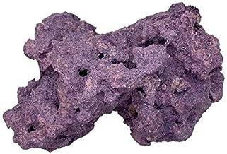 Reef Revive - Reef Rocks – Dry Coralline Purple Live Rock for Salt/Freshwater Aquariums - Aquascaping - (10)