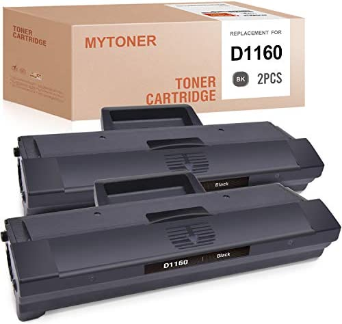 MYTONER Compatible Toner Cartridge Replacement for Dell YK1PM HF44N HF442 331 7335 1160 for product image
