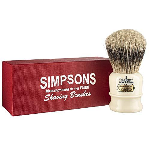 Simpsons Best Badger Shaving Brush (Chubby CH2 Best)