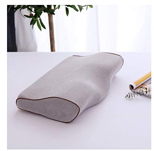 MLXZXQT Comfortable Memory Foam Pillow Neck Massage Ergonomic Curve Cervical Orthopedic Neck Bed Sleeping Head Cushion Pillow