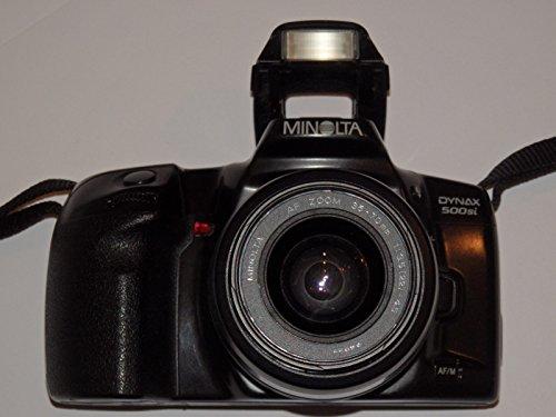 MINOLTA DYNAX 500si - schwarz - analoge Spiegelreflexkamera mit Objektiv MINOLTA AF ZOOM 35-70 mm 1:3.5(22)-4.5 Ø 49 ## SLR CAMERA ## Technik - getestet by LLL ##