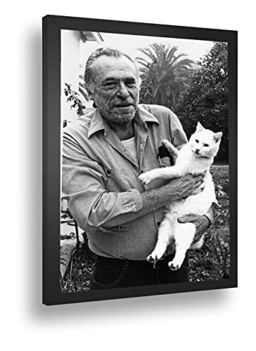 Quadro Decorativo Poster Escritos Bukowski Charles Poeta