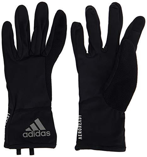 adidas Herren Handschuhe Aeroready, Black/Reflective Silver/White, L, FM0206