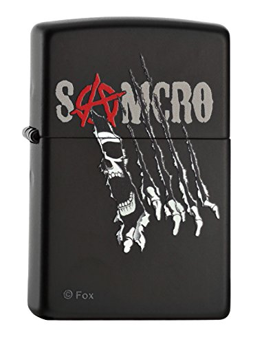 Zippo 60000696 Sons of Anarchy Feuerzeug, Messing