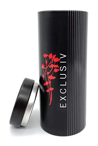 Perfekto24 Aufbewahrung kaffeepads Exclusive - Kaffeepaddose hält die Pads länger frisch - Pad Dose für Senseo Pads - Vorratsdsdose für Kaffeepads