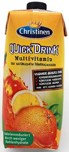 Christinen Quick Drink Multivitamin, 24er Pack (24 x 500 ml) EINWEG