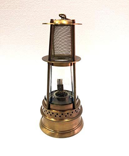 ANTIQUE Lámpara de aceite de latón de 30,48 cm para barcos náuticos y barcos