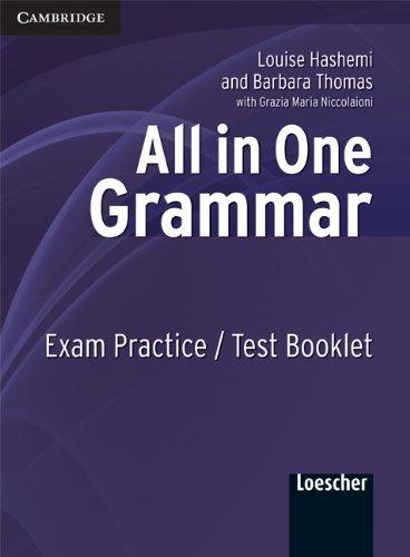 All in one. Grammar. Exam practice-Test book. Per le Scuole superiori