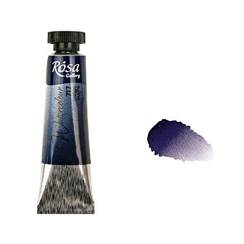 Tubetto di vernice professionale per acquerello di Rosa Gallery, 10 ml, qualità artistica Indaco