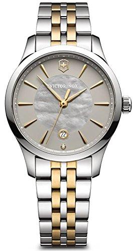 Victorinox Alliance Damen Uhr analog Schweizer Quarzwerk mit Edelstahl Armband V241753
