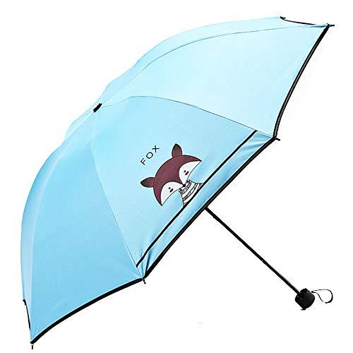 Umbrella Sun Umbrella Portable Multicolor Manual Girl Travel