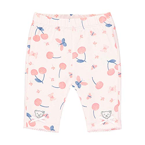 Steiff Legging, Rose (Barely Pink 2560), 58 (Taille Fabricant: 056) Bébé Fille