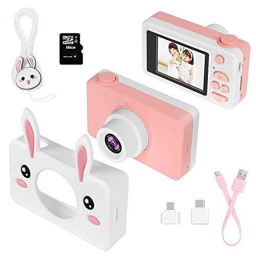TOYSBBS Cámara para Niños con Tarjeta TF,Cámara Digitale Selfie para Niños,Video cámara...