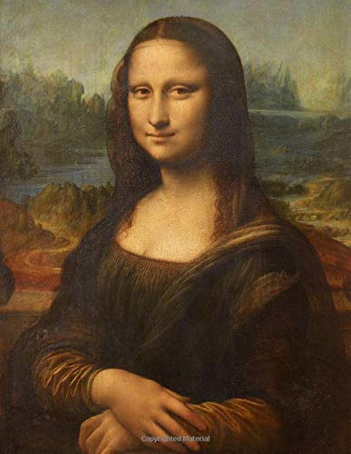 Leonardo da Vinci LARGE Notebook #1: Cool Artist Gifts - Mona Lisa Leonardo da Vinci Notebook College Ruled to Write in 8.5x11' LARGE 100 Lined Pages